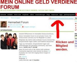 Heimarbeit Forum