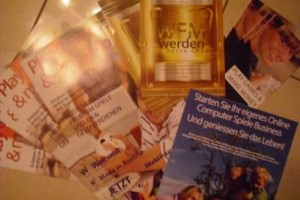 Somnium Promotion Unterlagen